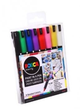 Posca Set - PC-1MR - 8 Set