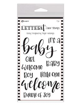 Ranger - Letter It - Clear Stamps - Baby