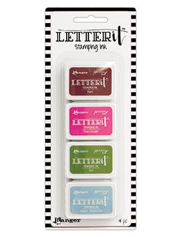 Ranger - Letter It - Stamping Ink - Set #2