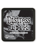 Ranger - Mini Distress Ink Pad - Black Soot