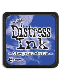 Ranger - Mini Distress Ink Pad - Blueprint Sketch