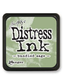 Ranger - Mini Distress Ink Pad - Bundled Sage