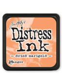 Ranger - Mini Distress Ink Pad - Dried Marigold