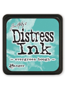 Ranger - Mini Distress Ink Pad - Evergreen Bough