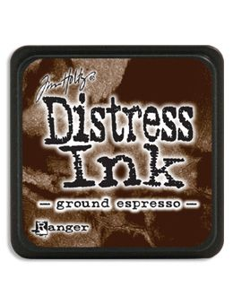 Ranger - Mini Distress Ink Pad - Ground Espresso