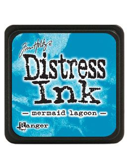 Ranger - Mini Distress Ink Pad - Mermaid Lagoon