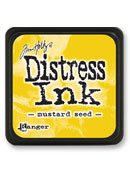 Ranger - Mini Distress Ink Pad - Mustard Seed