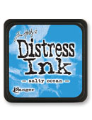 Ranger - Mini Distress Ink Pad - Salty Ocean