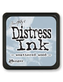 Ranger - Mini Distress Ink Pad - Weathered Wood