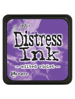 Ranger - Mini Distress Ink Pad - Wilted Violet