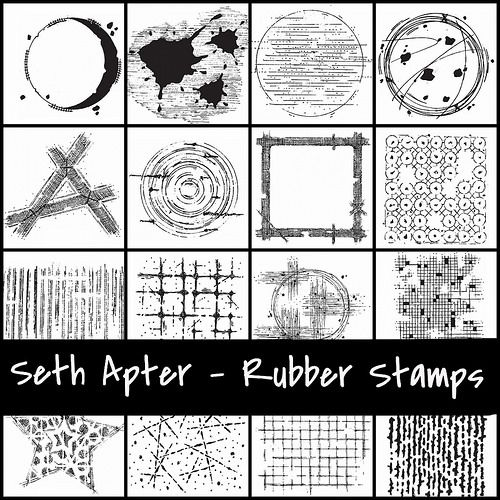Seth Apter - Impression Obsession Rubber Stamps