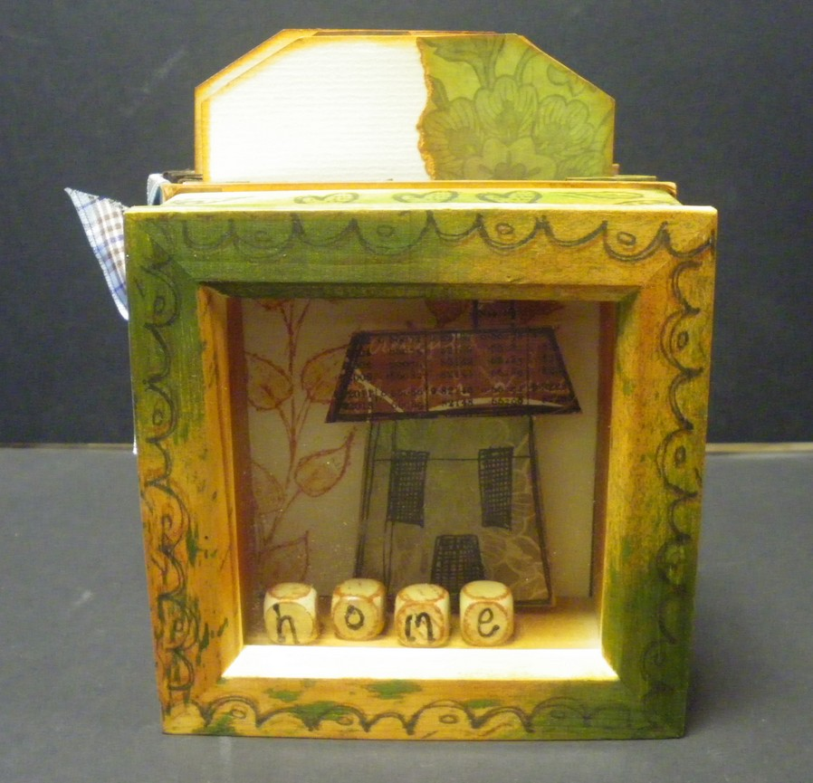 ShadowBox Frame Accordion Book