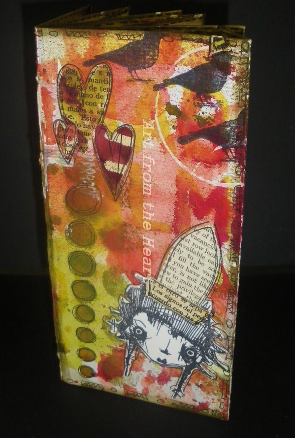 Stampotique Handmade Book