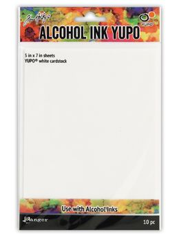 Tim Holtz - Alcohol Ink Yupo Paper - Translucent 104lb - 5x7""