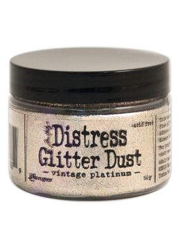 Tim Holtz - Distress Glitter Dust Platinum