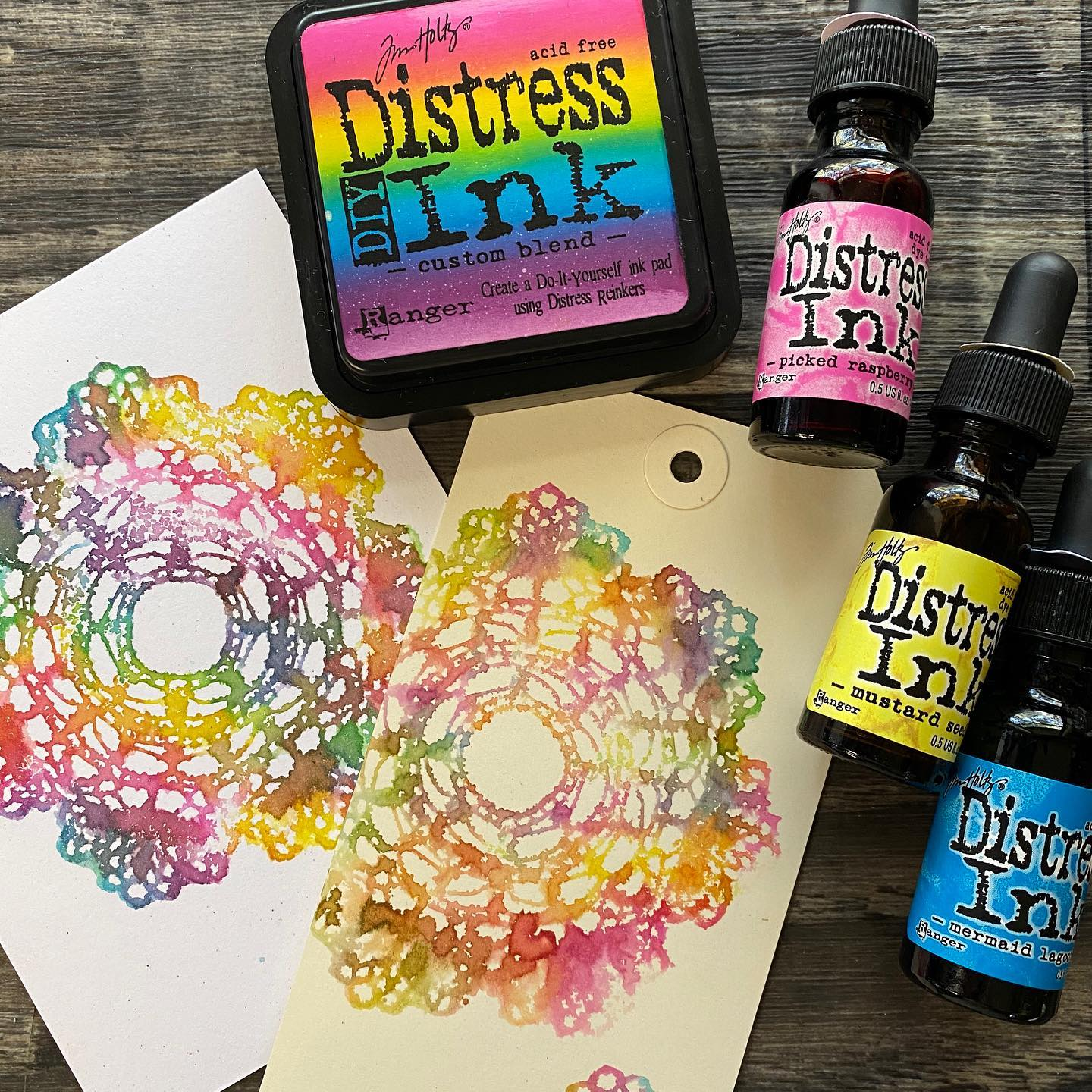 Tim Holtz - Distress Inkpad Re-Inkers