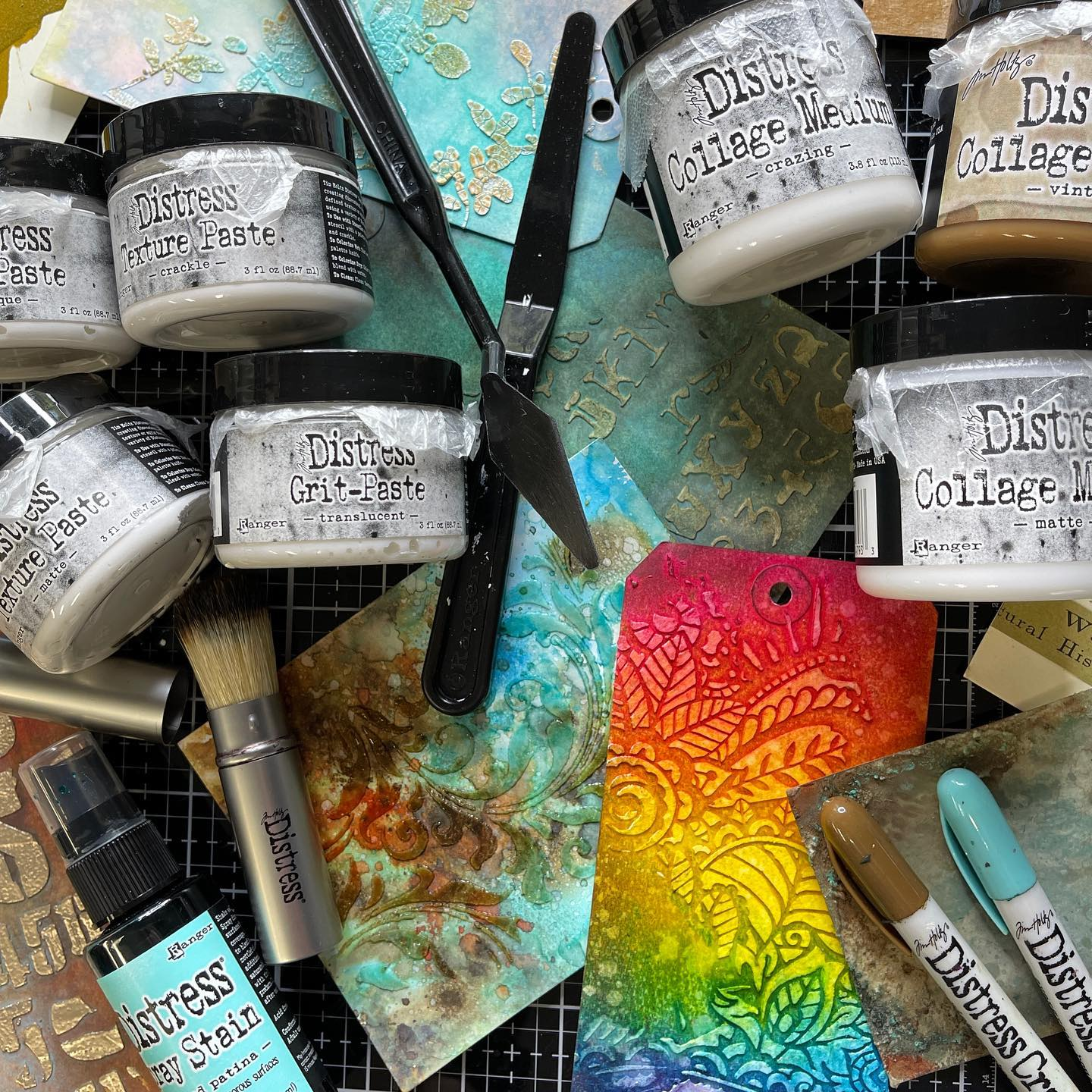 Tim Holtz - Distress Mediums & Brushes