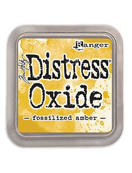 Tim Holtz - Distress Oxide Ink Pad - Fossilised Amber