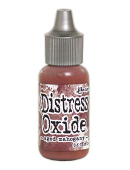 Tim Holtz - Distress Oxide Re-inker - Aged Mahogany