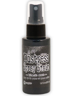 Tim Holtz - Distress Spray Stain - Black Soot