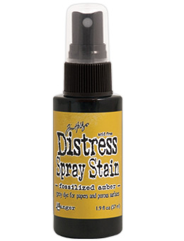 Tim Holtz - Distress Spray Stain - Fossilised Amber