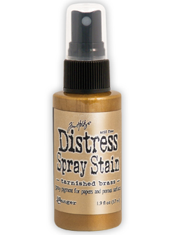 Tim Holtz - Distress Spray Stain - Tarnished Brass