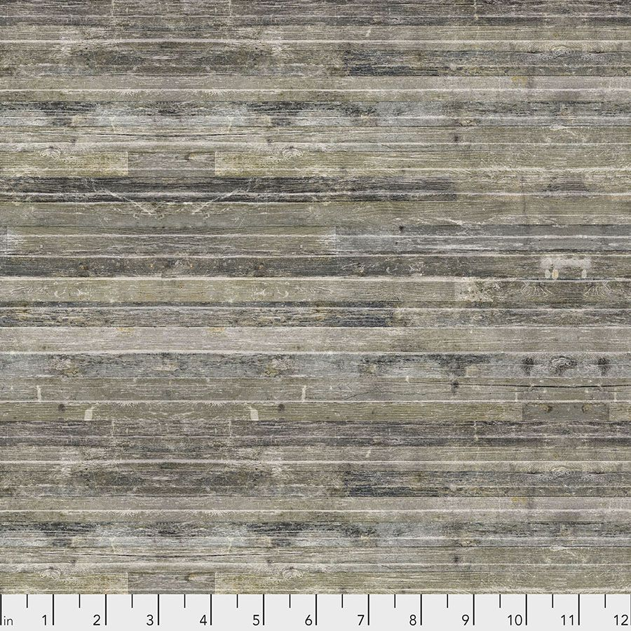 Tim Holtz - Eclectic Elements - Yuletide Collection - 50cm - Birch Planks - Neutral