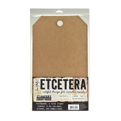 Tim Holtz - Etcetera - Thickboard Tags - Large